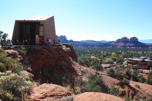 Chapel Of The Holy Cross Sedona Az Cool Architecture