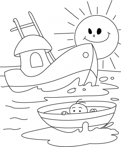 Boat Coloring Pages Printable Coloring  Search Results  Fun
