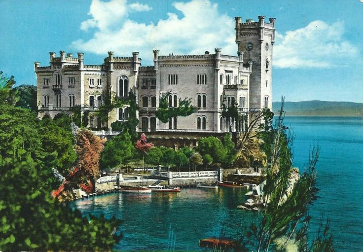 The Castle of Miramare, Trieste, Italy