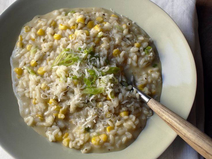 Sweet Corn Risotto with Herbes de Provence Recipe : Cat Cora : Food ...