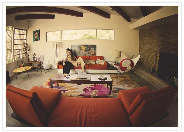 Vintage 60s living room decor retro rooms pinterest for 60s living room ideas