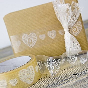 hearts decorative tape