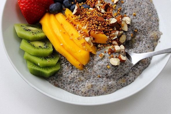 Paleo Chia Seed Breakfast Bowl | Recipes | Pinterest
