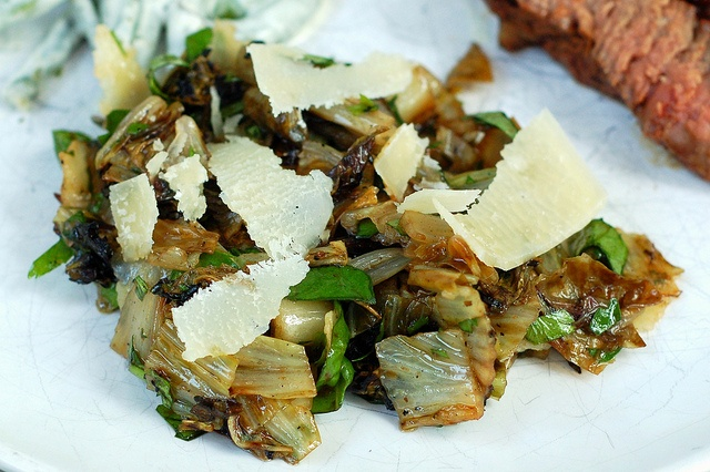 grilled radicchio salad with herbs & balsamic by Eve Fox, Garden of ...