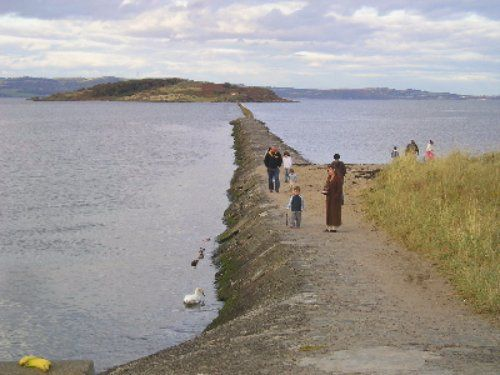 Causeway to Cramond Island, Edinburgh