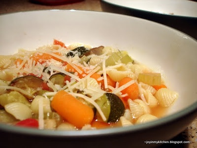 Roasted Vegetable Minestrone | recipes / soups | Pinterest