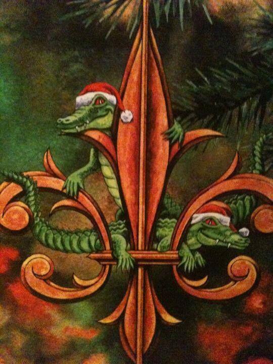 Christmas fleur de lis pinterest