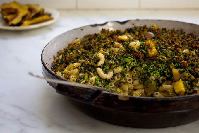 Broccoli-Basil Mac and Cheese. This sounds like perfection to me.