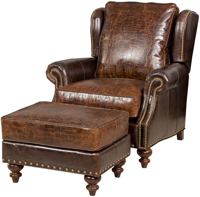 Pin By Wellington 39 S Leather Furniture On Leather Chair Ottomans P