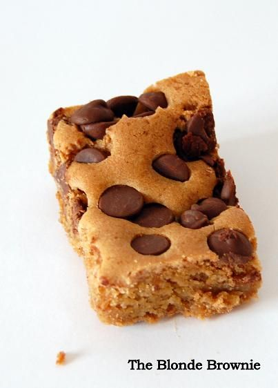 The Blonde Brownie | I Could Eat. | Pinterest