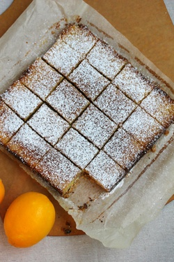 Whole Lemon Bars If you can get the Meyer lemons you will love them ...