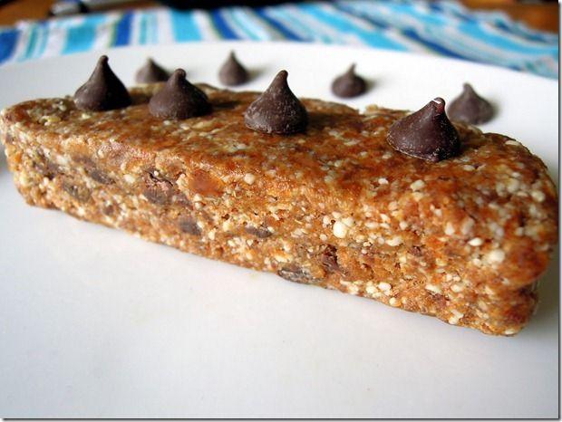 homemade chocolate chip cookie dough larabars