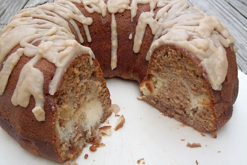 Apple Cream Cheese Bundt Cake | Desserts to try | Pinterest