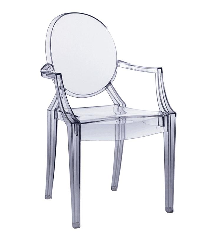 Chaise Louis Ghost Par Philippe Starck  Objets Cultes