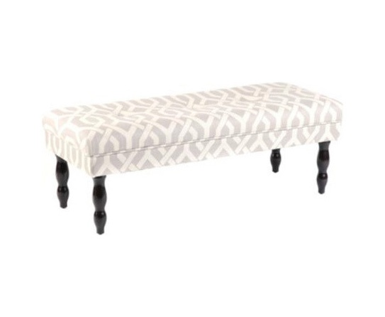 white gray bedroom bench to an old piano bench for the foot of the