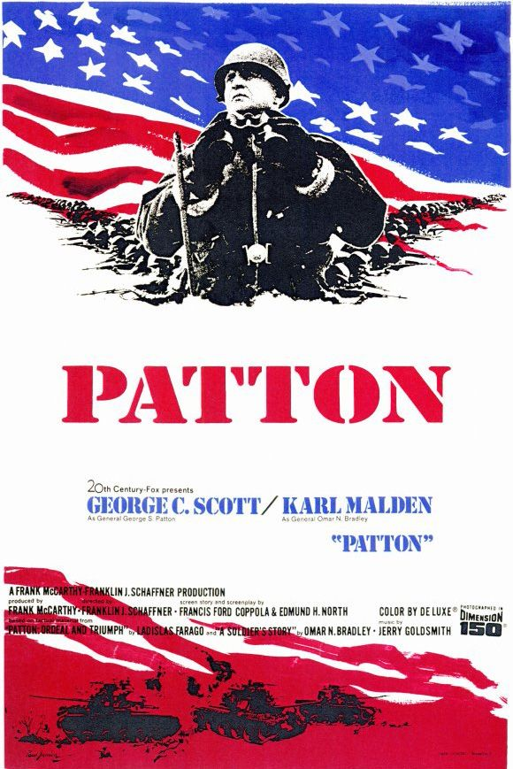 Patton (1970). Inducted in 2003. The World War II adventures of the controversial American general, George S. Patton.
