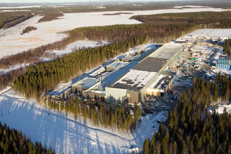 Great overview of new #Facebook #Datacenter #Luleå #Construction @Minkels_HQ #Minkels #FlowConnection