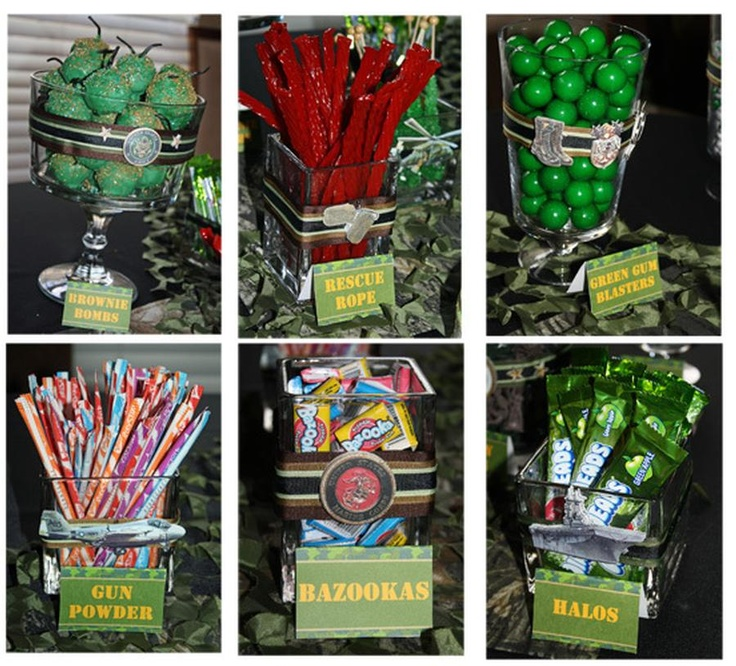 Army party ideas nerf pinterest for Army party decoration ideas