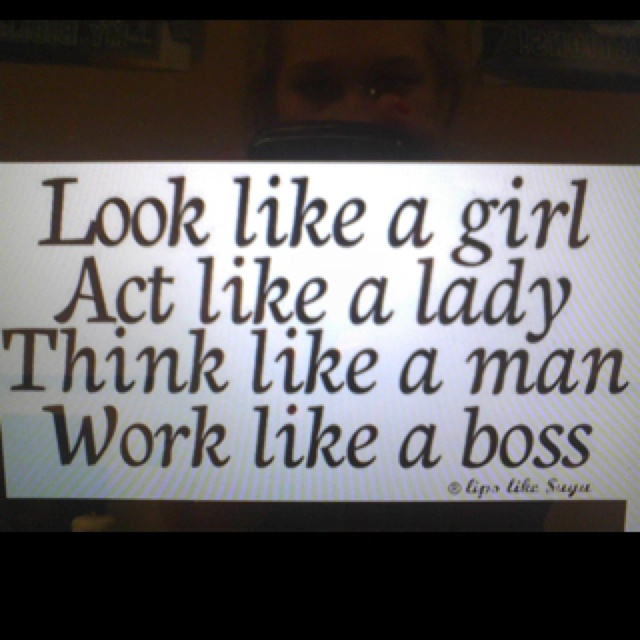 Every girl should think this way words of wisdom pinterest