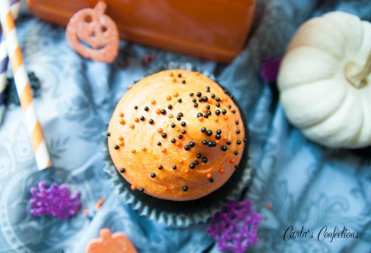 halloween cupcakes orange