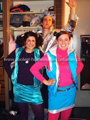 homemade zenon girl of the 21st century group costume disguise disneys