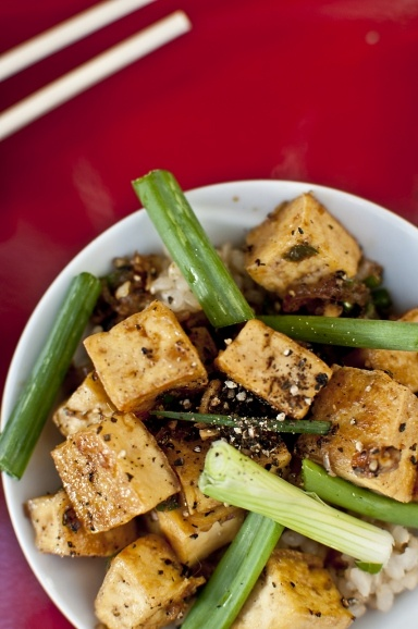 Black pepper tofu - definitely going to try this later in the week.