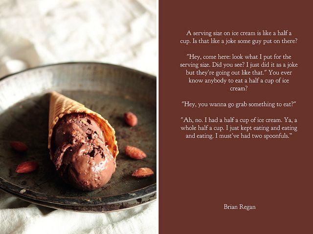Chocolate Salted Almond Ice Cream by pastryaffair, via Flickr