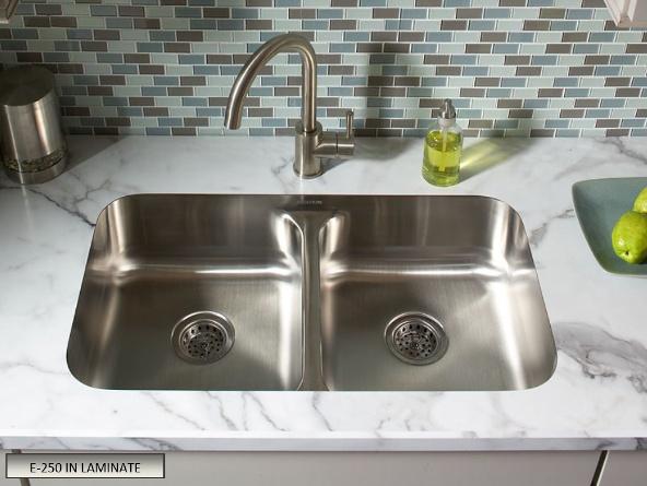 No Lip! Undermount Sink In Laminate Countertops FLOFORM Countertops