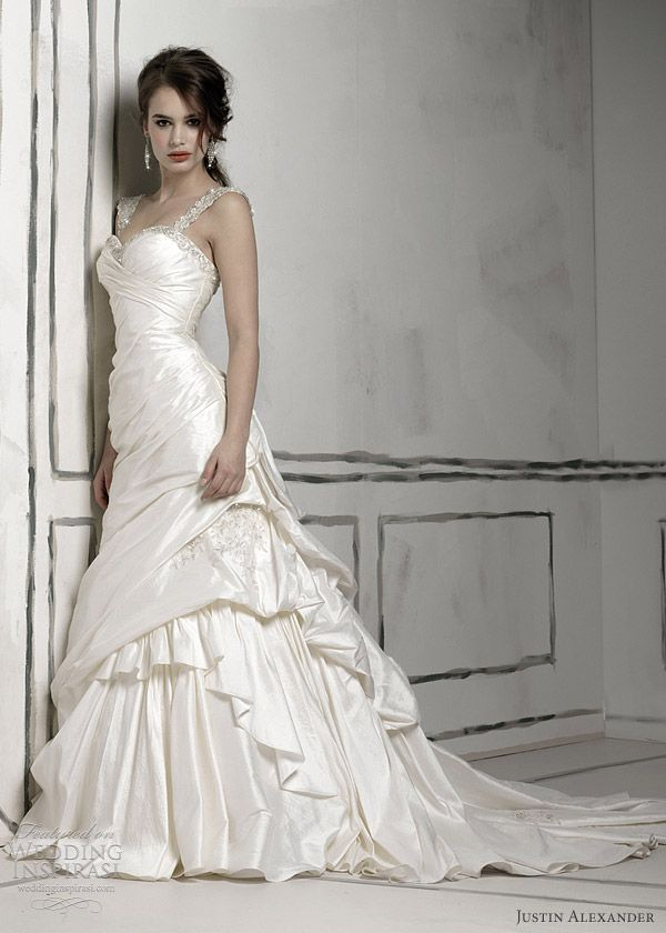 justin alexander bridal 8506