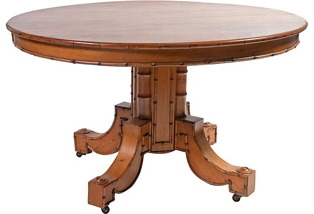 Pedestal Table W Extensions I Am Looking For A Decorative Round Table