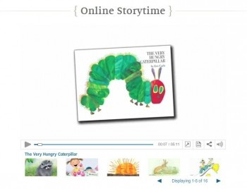 free online toddler storytime