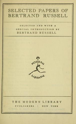 bertrand russell essays the future of mankind Bertrand russell (russell, bertrand,  bertrand, 1872-1970: icarus: or, the future of science  bertrand, 1872-1970: philosophical essays /.