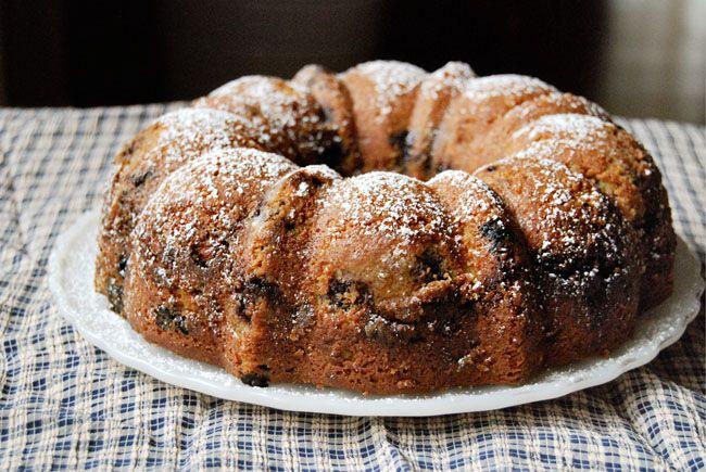 Blueberry Sour Cream Coffee Cake | Cake | Pinterest
