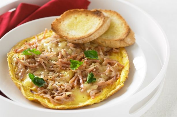 Bacon and Cheese Omelette-----Sometimes the classics are the best and ...