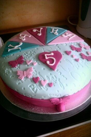 fondant birthday cakes pinterest