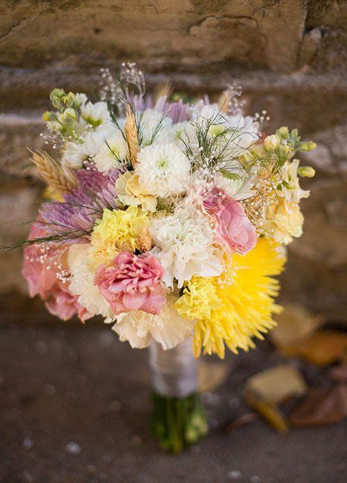 Urban Rustic Fall Wedding Flowers Bouquet Budget Flowers Autumn