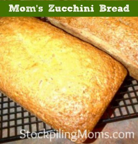 Mom's Zucchini Bread | Recipe