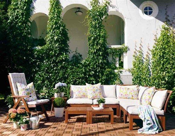 ikea patio furniture applaro at home pinterest