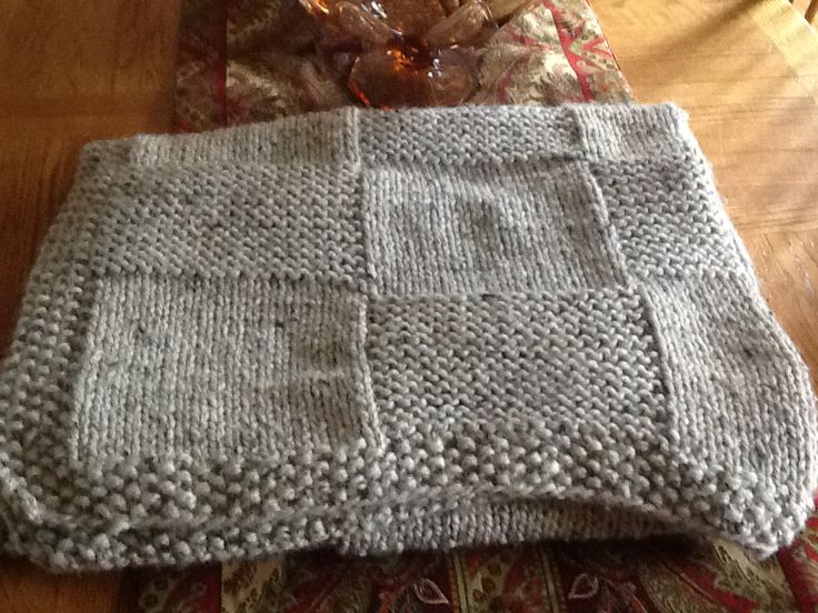 Basket Weave Pattern Knitting Afghan : Basket weave afghan knit one purl two