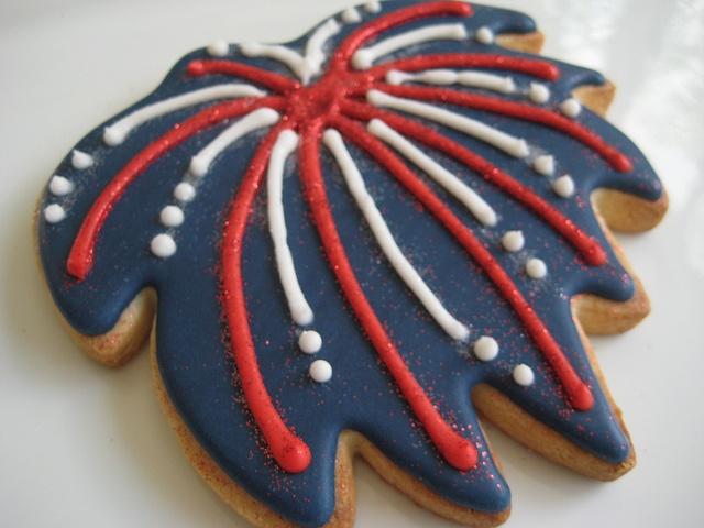 firework cookies | Cookie Galore | Pinterest