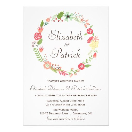 Shabby Wedding Invitations as beautiful invitations sample