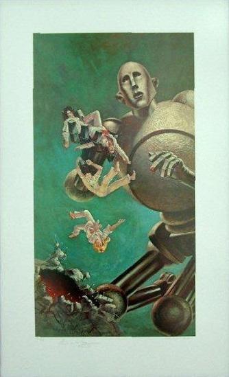 queensQueen Album Covers Robot