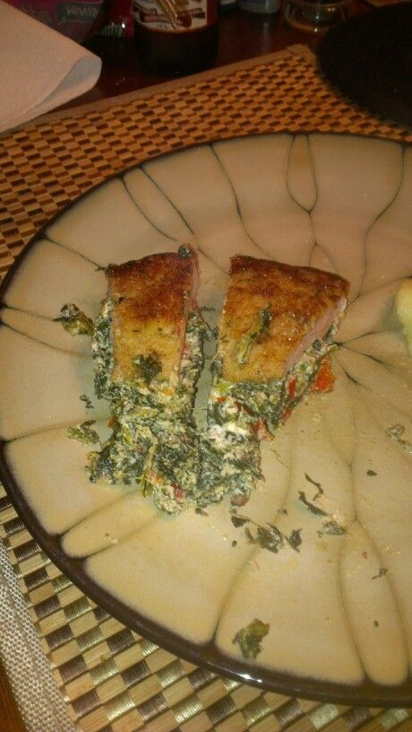 stuffed with goat cheese spinach and goat cheese stuffed pork chops ...