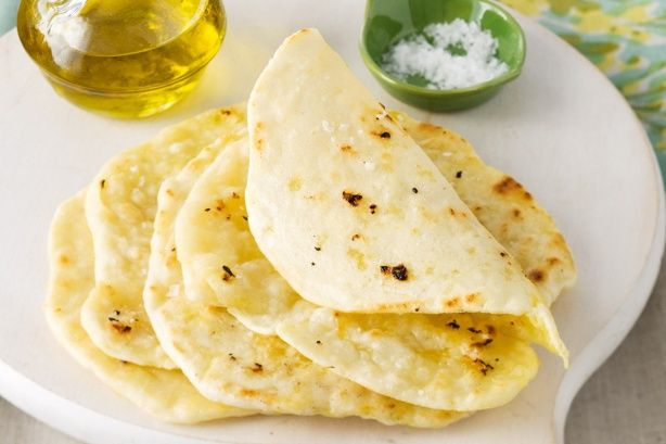 Gluten-free garlic flat bread | Recipes to try | Pinterest