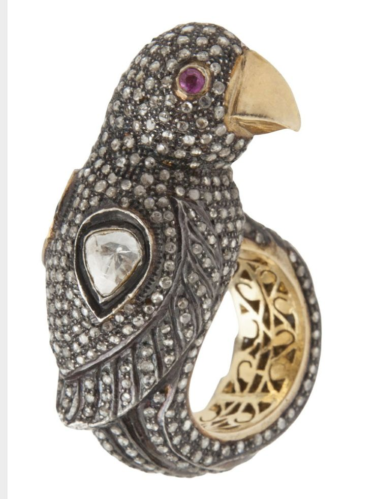 bird ring farfetch thot provoking jewelry
