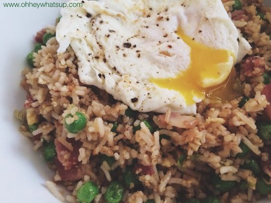 Bacon and Egg Fried Rice - Oh Hey | Primal Mains, sides, and salads ...