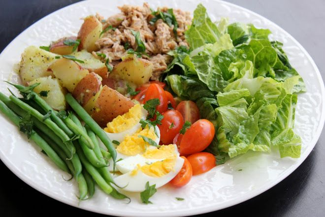 Salad Nicoise with Fresh Herb Vinaigrette | Meaningful Eats