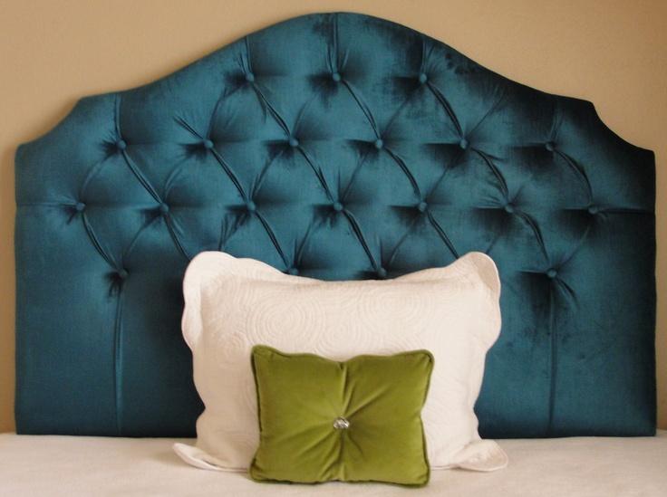 Custom tufted upholstered headboard made to order for Royal headboard