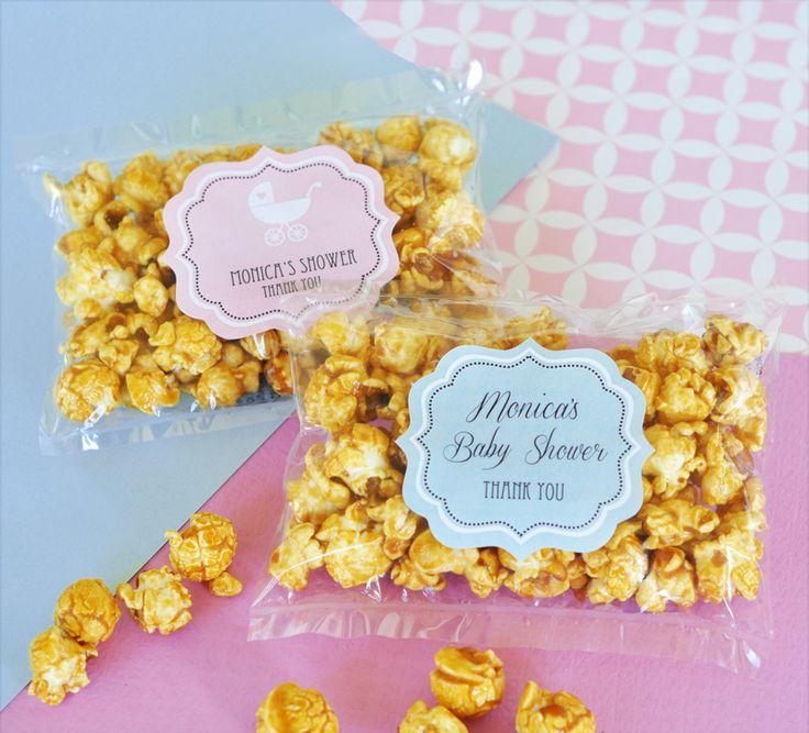 caramel popcorn baby shower favors baby shower decorations pinter