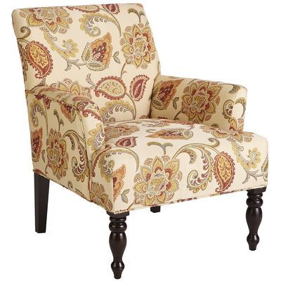 Liliana Armchair - Jacobean - Nice Chair.  Good pattern and colors